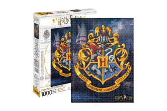 Harry Potter - Hogwarts Logo 1000pc Puzzle