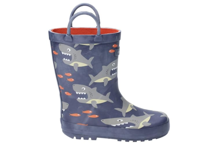 Cotswold Childrens Puddle Boot / Boys Boots (Shark) (31 EUR)