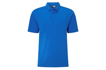 Callaway Mens Hex Opti Stretch Polo (Magnetic Blue)