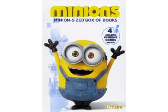 Minion-Sized Box Of Books