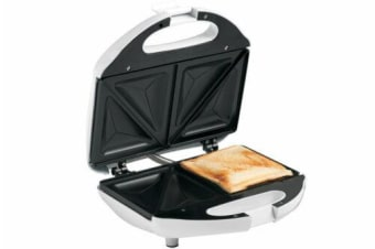 Tiffany Sandwich Maker Press Toaster/Toast Grill square loaf bread 2 Slice