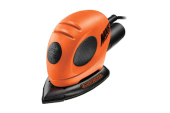 Black & Decker 55W Corded Mouse Sander with Accessories