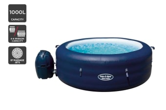 1000L Inflatable Hot Tub Jet Stream Massage Spa
