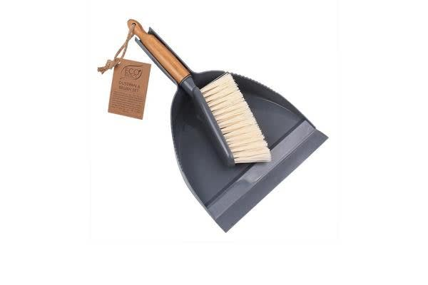 White Magic Eco Basics Dustpan & Brush Set