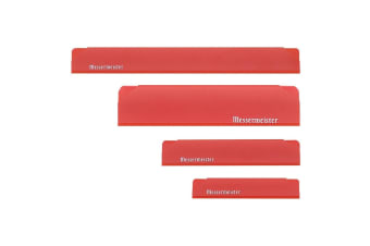 Messermeister Edge Guard 4pc Set-red