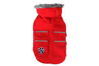 Canada Pooch Everest Explorer Reflective Dog Jacket (Red)