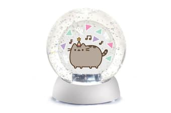 Pusheen Waterdazzler Globe - Birthday