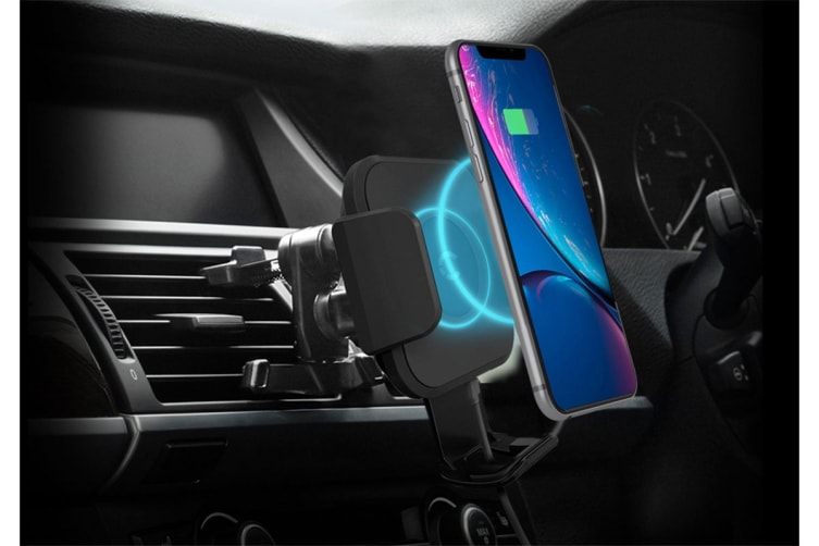Cygnett Race 10W Wireless Vent Car Charger (CY2683WLCCH)