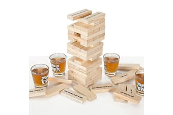 Stacking Tower Drinking Game