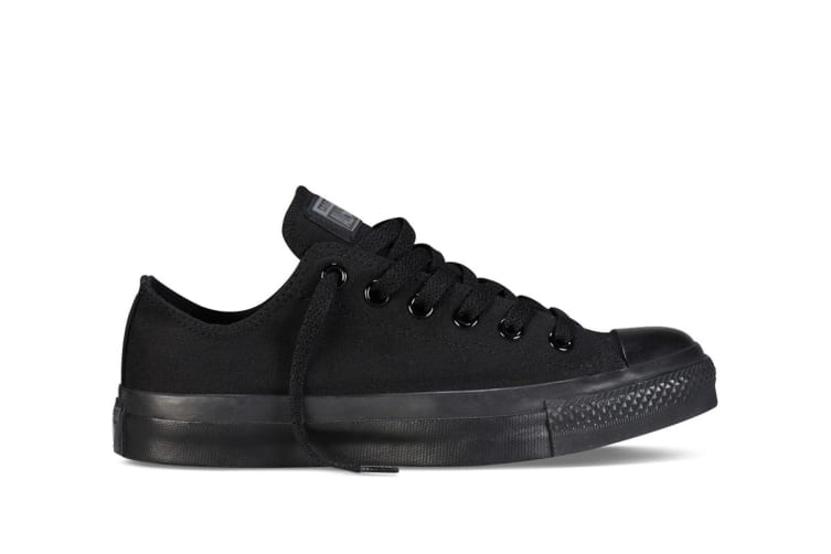 Converse Chuck Taylor All Star Ox Lo (Black Mono, US Mens 6 / US Womens 8)