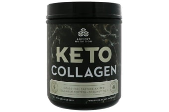 Dr. Axe / Ancient Nutrition Keto Collagen Collagen Protein + Coconut MCTs - Unflavoured 540g