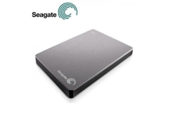 Seagate Backup Plus 1TB 2.5' Silver USB3.0 Slim Portable Drive