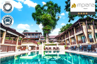 KOH SAMUI: 5 or 7 Nights at Impiana Resort Chaweng Noi Koh Samui for Two
