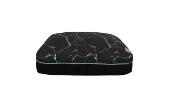 Rectangular Pet Pad - Black Marble S-66 x 54 x 14cm