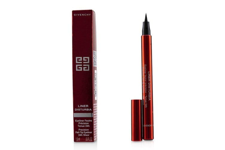 Givenchy Liner Disturbia Precision Felt Tip Eyeliner - # 01 Black Disturbia 1.5ml