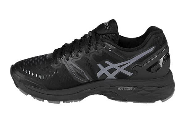 ASICS Women's Gel-Kayano 23 (Black/Onyx/Carbon, Size 9.5)