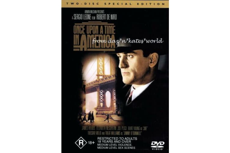 Once Upon A Time In America 1984 ROBERT DE NIRO - Rare- Aus Stock Preowned DVD: DISC LIKE NEW