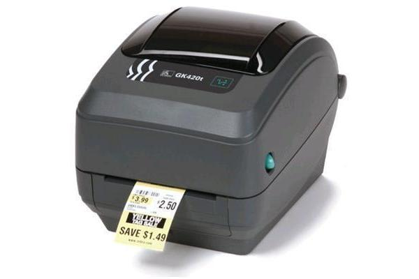 Zebra GK420T 203dpi Ethernet USB desktop Barcode label Printer