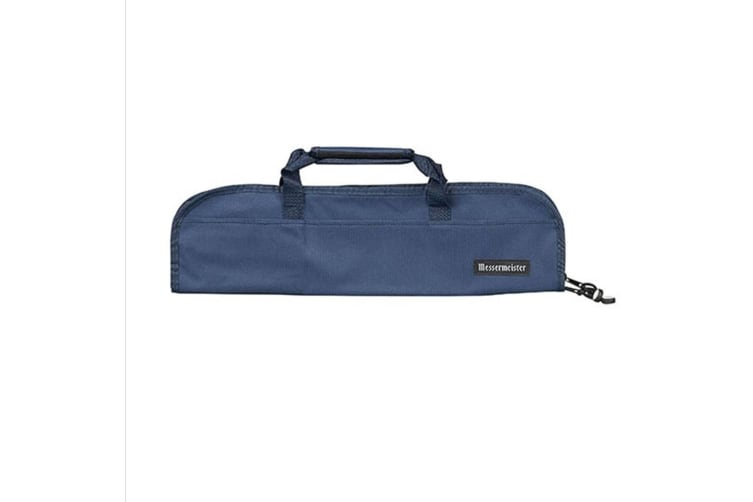 Messermeister 5 Pocket Knife Roll -navy