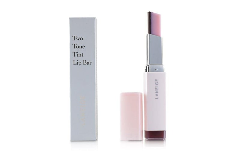 Laneige Two Tone Tint Lip Bar - # 8 Cherry Milk 53074 2g/0.07oz