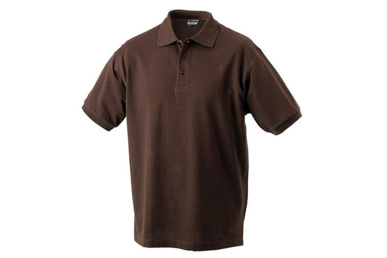 James and Nicholson Childrens/Kids Classic Polo (Brown) (S)