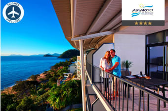 CAIRNS: 6 Nights at Amaroo Trinity Beach Including Flights for Two