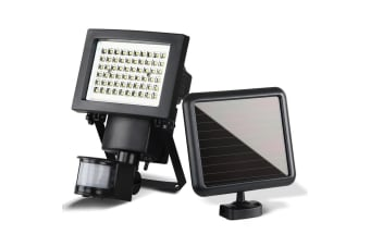 Set of 2 60 LED Solar Sensor Light Outdoor Security Floodlights Garden Motion