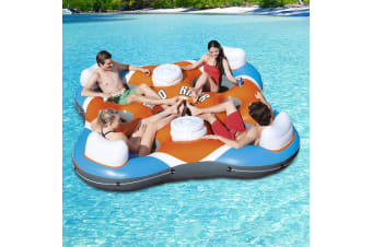 Bestway Inflatable Float Floating Island 4-person RaftRapid Rider