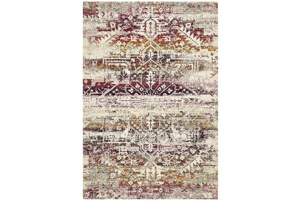 Hazel Sunset Durable Vintage Look Rug 230x160cm