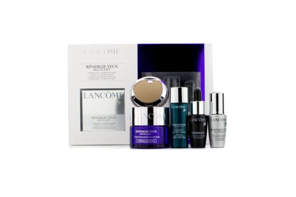 Lancome Renergie Yeux Multi-Lift Set: Eye Cream 15ml + Youth Activator 7ml + Skin Corrector 7ml + Light- Pearl 5ml (4pcs)