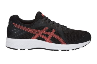 ASICS Women's JOLT 2 Running Shoes (Black/Flash Coral, Size 7.5)