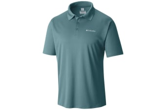 Columbia Mens Zero Rules Polo - Teal
