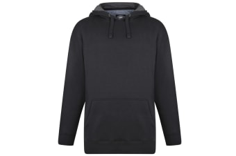 Kam Jeanswear Mens Hoody (Black)
