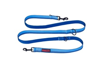 Halti Double Ended Dog Lead (Blue)