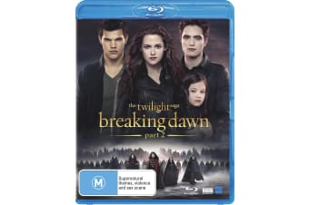 The Twilight Saga Breaking Dawn Part 2 Blu-ray Region B