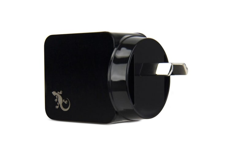 2PK Gecko Smart 2.4A USB Wall Charger - Black