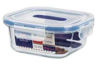 Royal Vale Glass Square Container 800ml