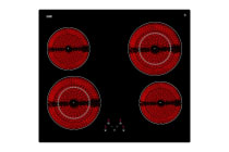 InAlto 60cm 4 Zone Induction Cooktop with Touch Control