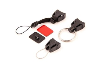 T-Reign Retractable Gear Tether Outdoor Accessory Pack - 3 Attachments