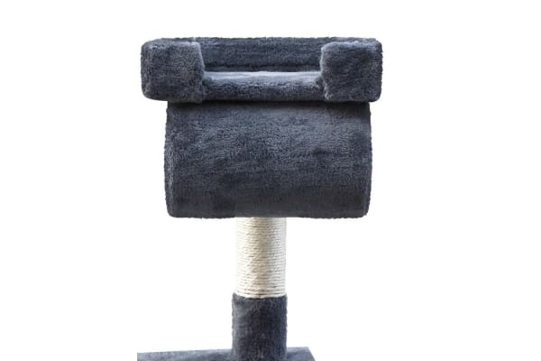 Cat Scratching Post Tree House Condo 141cm (Grey)