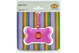Bon Ton C Pink Classic Poop Bag Holder