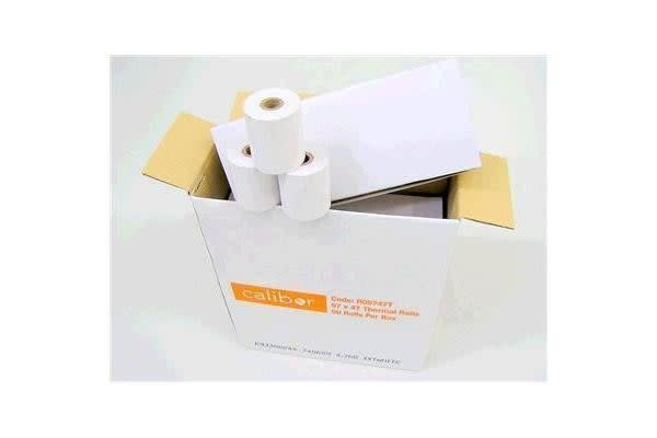 Calibor RO5747T  Thermal Plain Paper Roll 57x47mm 50 ROLLS/BOX  57mm (paper width) x 47mm (roll