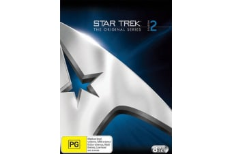 Star Trek the Original Series Season 2 DVD Region 4
