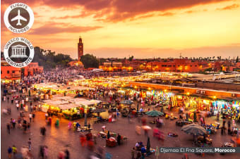 MOROCCO: 9 Day Magical Morocco Tour Including Flights
