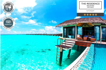 MALDIVES: 5 Nights All Inclusive, The Residence Maldives for Two
