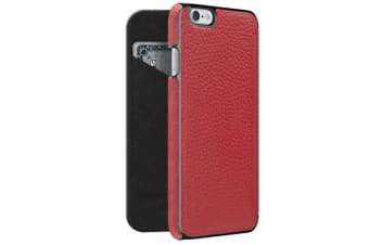 Adopted Leather Folio Wallet Case - iPhone 6 & 6S - Cayenne/Gunmetal