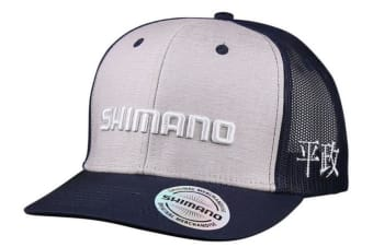 Shimano Colt Sniper Kanji Fishing Cap - Truckers Cap with Adjustable Strap