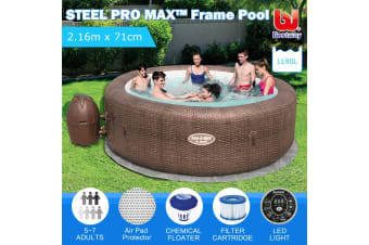 Inflatable Spa Massage Hot Tub 5-7 Person