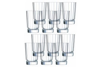 12PK Cristal D'Arques Macassar 360ml Highball Hiball Glass Glasses Bar Tableware