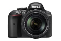 Nikon D5300 DSLR Camera 18-140mm VR Lens Kit (Black)